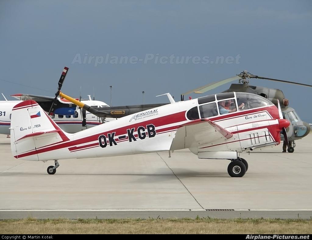 OK-KGB - Private Aero Ae-45 at...