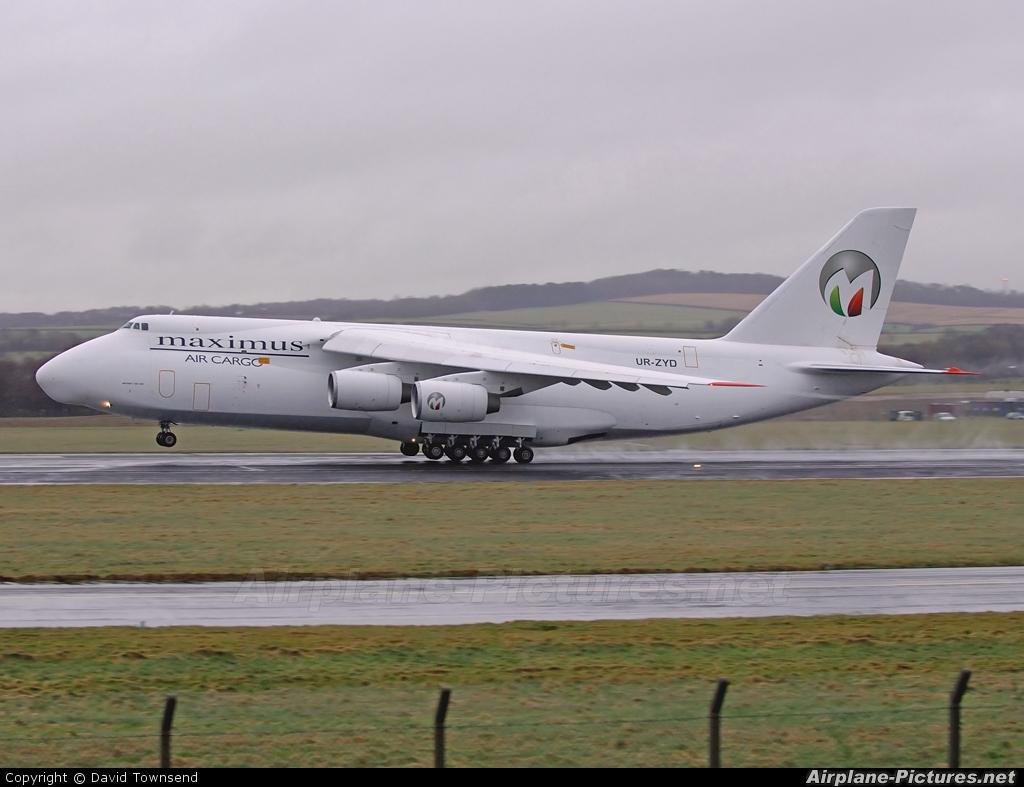 Maximus Air Cargo UR-ZYD aircraft at Prestwick
