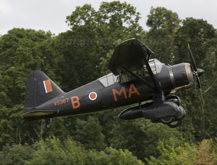 G-AZWT - The Shuttleworth Collection Westland Lysander III