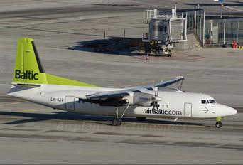 LY-BAV - Air Baltic Fokker 50