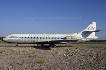 SE-DAF - SAS - Scandinavian Airlines Sud Aviation SE-210 Caravelle