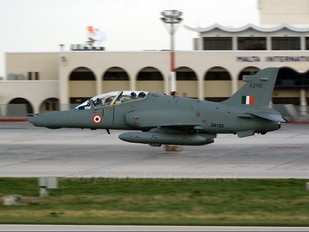 ZK122 - India - Air Force British Aerospace Hawk 132
