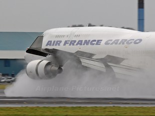F-GISA - Air France Cargo Boeing 747-400BCF, SF, BDSF