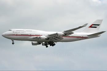 A6-COM - United Arab Emirates - Government Boeing 747-400