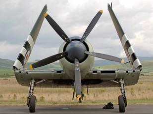 "VR930 - Royal Navy ""Historic Flight"" Hawker Sea Fury FB.11"