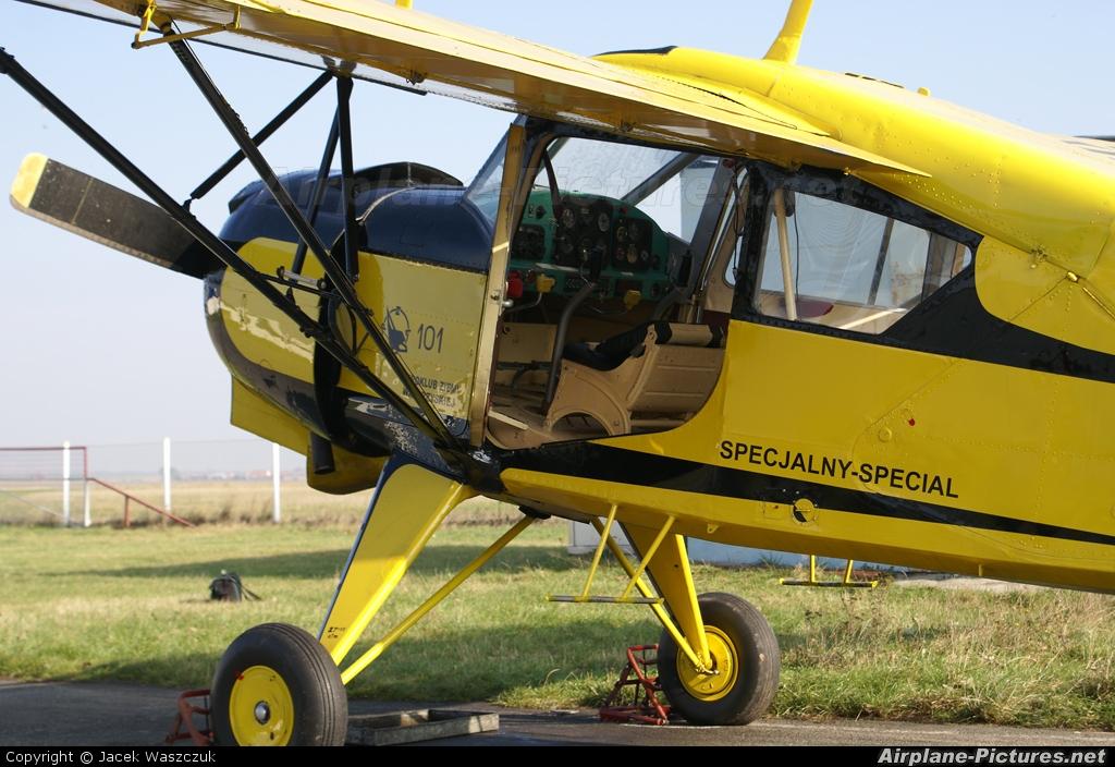 Aeroklub Ziemi Wałbrzyskiej SP-YGF aircraft at Mirosławice