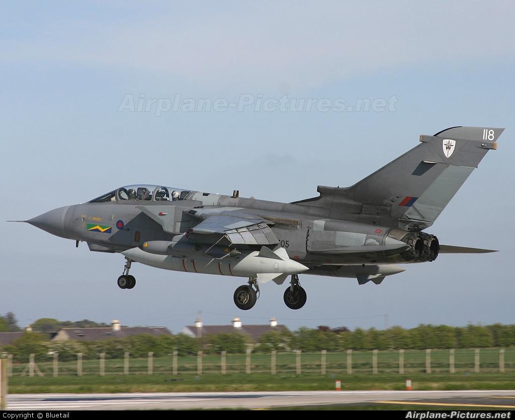 Royal Air Force ZG705 aircraft at Lossiemouth