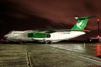 EZ-F426 - Turkmenistan Airlines Ilyushin Il-76 (all models)