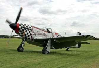 G-HAEC - Private Commonwealth Aircraft Corp CA-18 Mustang (P-51D)