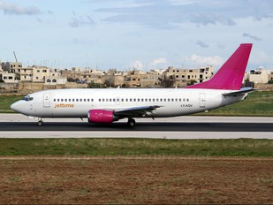 LY-AQV - Jet Time Boeing 737-300