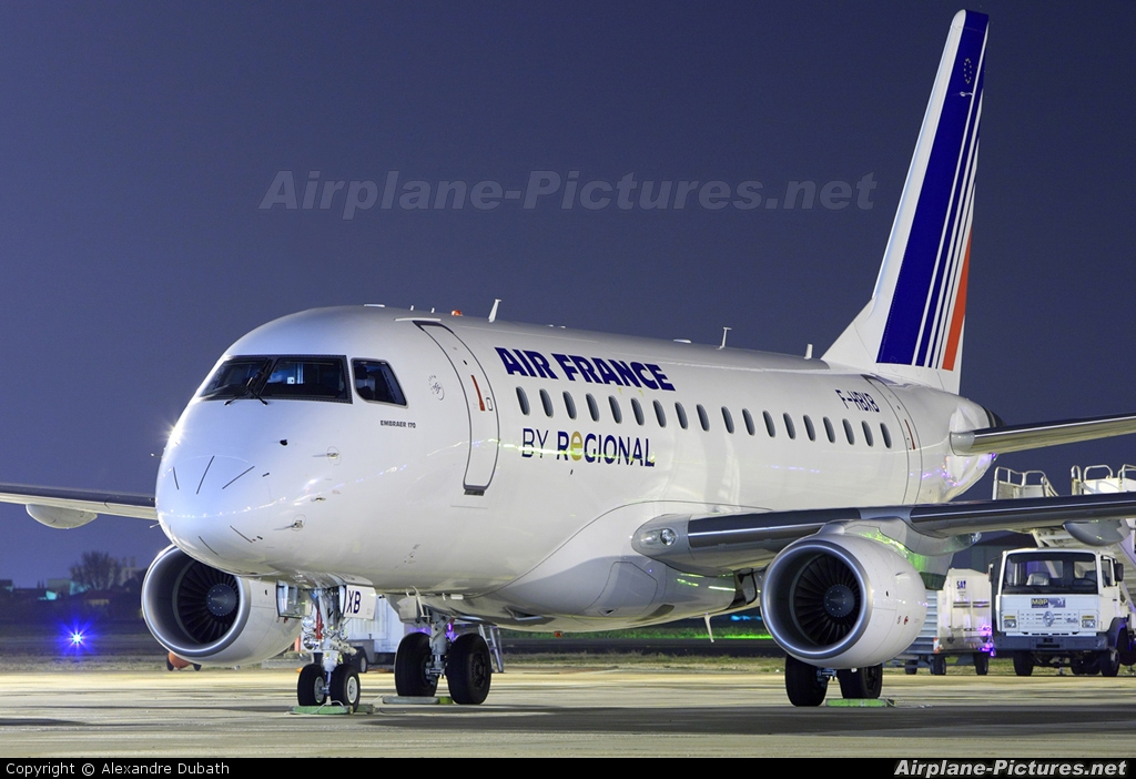 Air France Regional F Hbxb Aircraft At Marseille Provence
