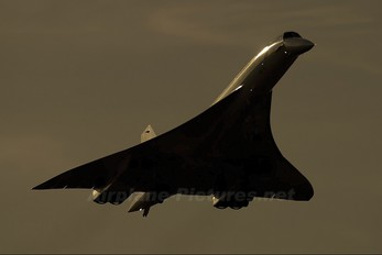 - - British Airways Aerospatiale-BAC Concorde