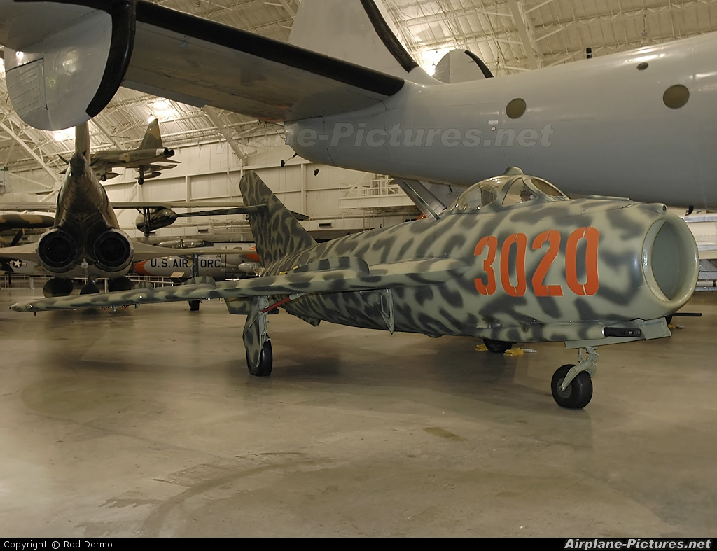 Vietnam - Air Force 3020 aircraft at Dayton - Wright-Patterson AFB