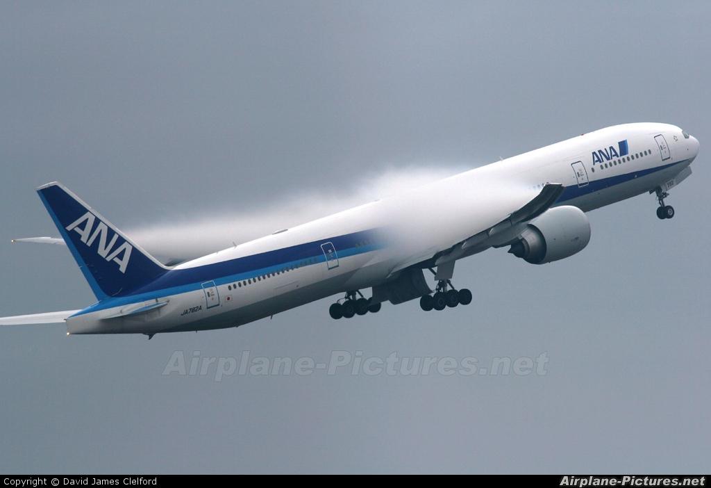 ANA - All Nippon Airways JA782A aircraft at Tokyo - Narita Intl