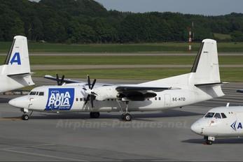SE-KTD - AmaPola Flyg Fokker 50
