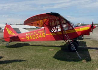 N40246 - Susitna Air Service Piper PA-18 Super Cub