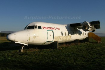 G-ECAT - Unknown Fokker F27