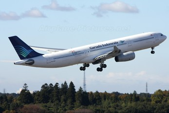 PK-GPF - Garuda Indonesia Airbus A330-300