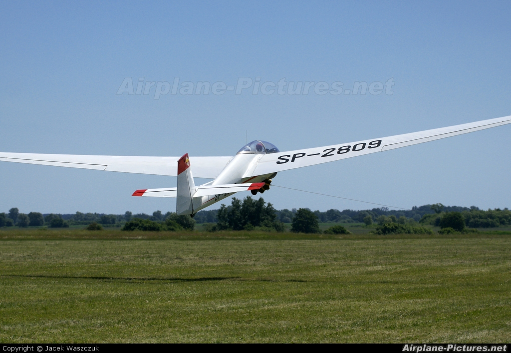 Aeroklub Wroclawski SP-2809 aircraft at Wroclaw - Szymanow