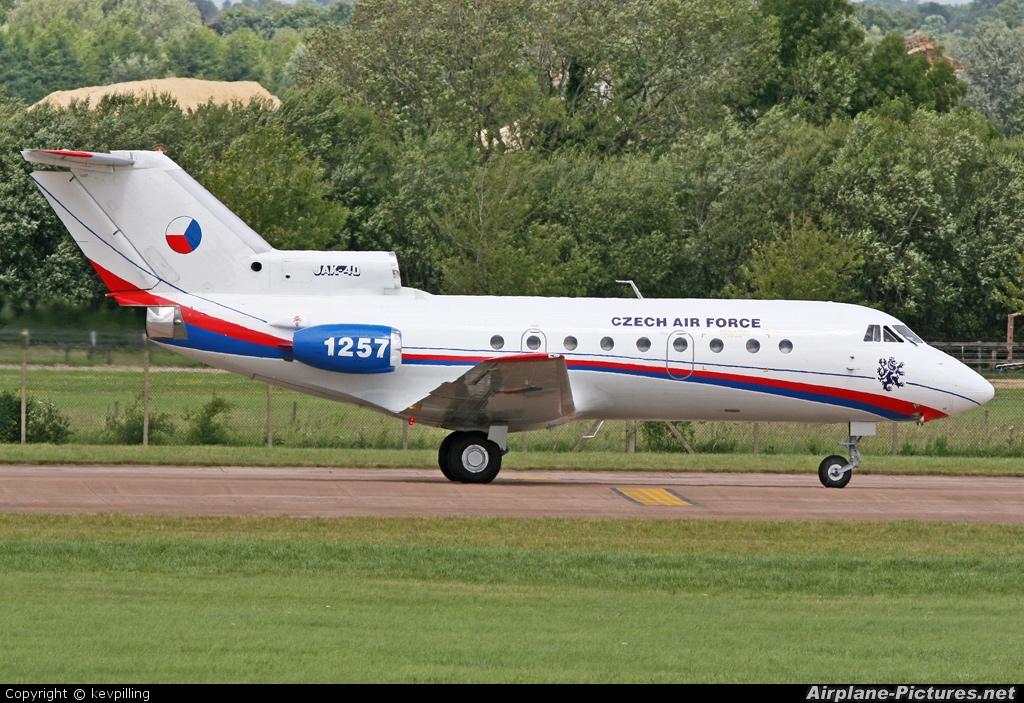 Czech - Air Force 1257 aircraft at Fairford