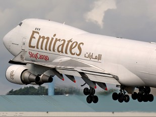 N497MC - Emirates Sky Cargo Boeing 747-400F, ERF