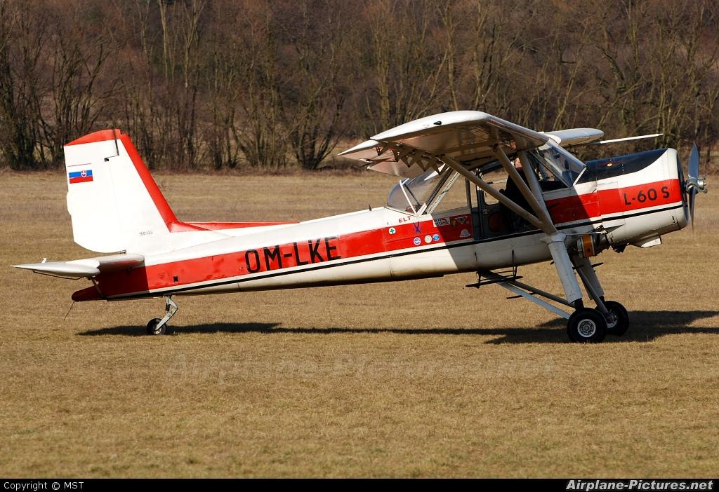 Aeroklub Očová OM-LKE aircraft at Očová