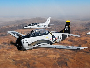 N746SH - Private North American T-28C Trojan
