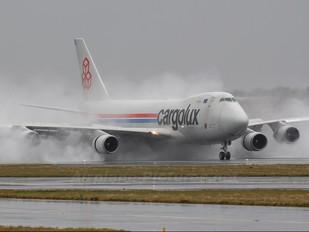 LX-KCV - Cargolux Boeing 747-400F, ERF