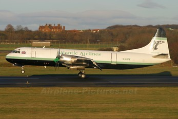 G-LOFE - Atlantic Airlines Lockheed L-188 Electra