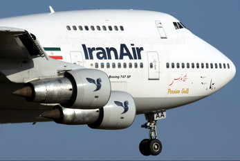 EP-IAA - Iran Air Boeing 747SP