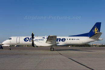 SE-LSA - City Airline SAAB 2000