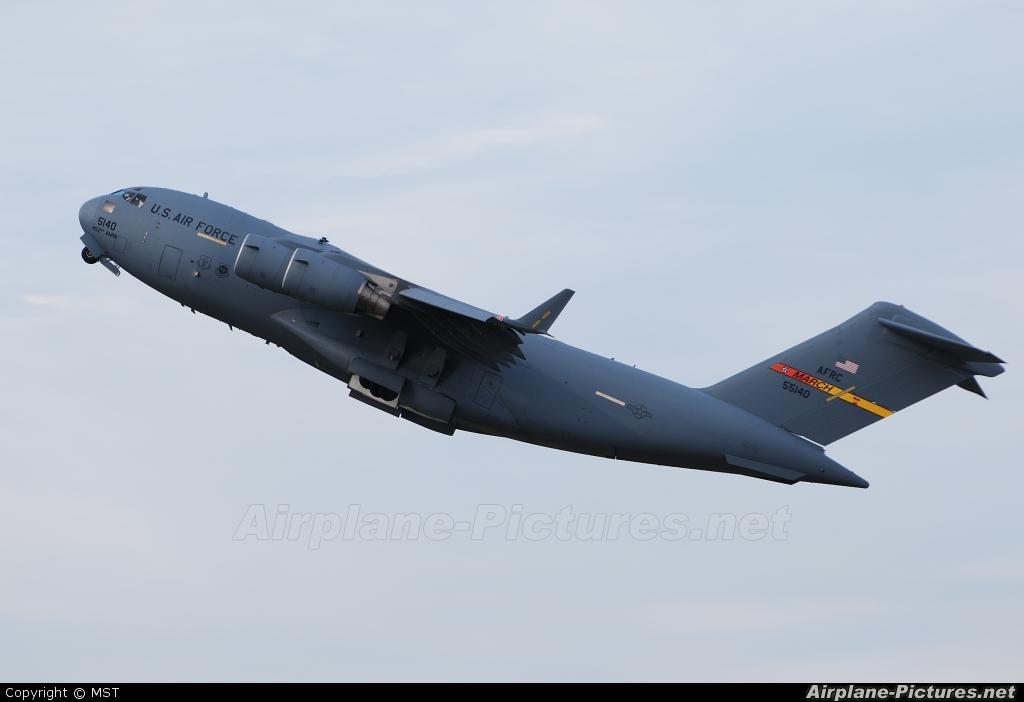 USA - Air Force AFRC 05-5140 aircraft at Kecskemét