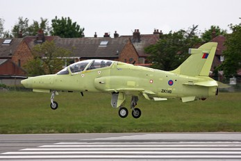 ZK140 - Royal Air Force British Aerospace Hawk 132