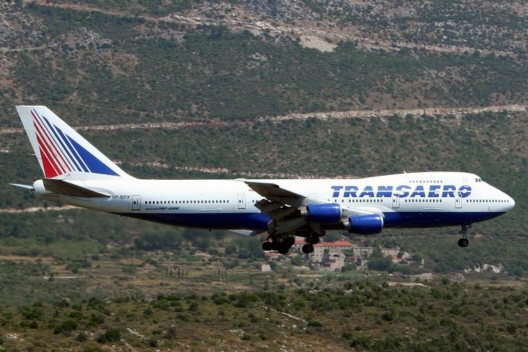 Transaero Airlines recibe su primer Airbus A321
