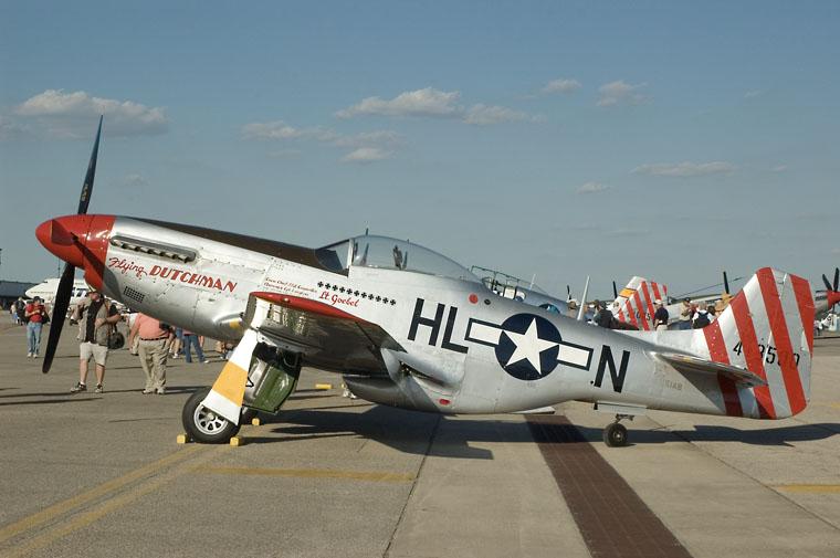 Private N51AB aircraft at Columbus - Rickenbacker Intl