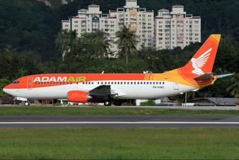 PK-KMC - AdamAir Boeing 737-400