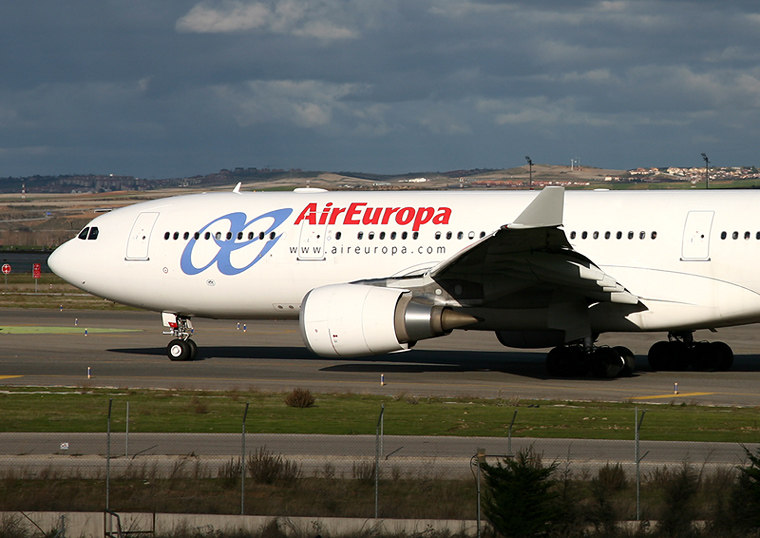 Air Europa EC-JPF aircraft at Madrid - Barajas