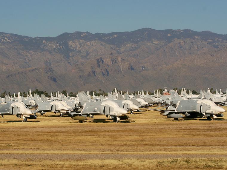 USA - Air Force - aircraft at Davis-Monthan AFB
