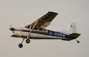 G-RNRM - Skydive St.Andrews Cessna 185 Skywagon
