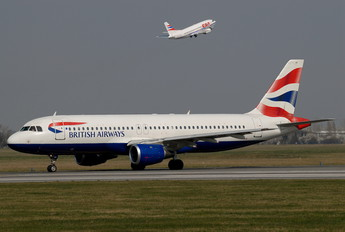 G-BUSB - British Airways Airbus A320