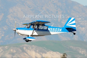 N5503A - Private Bellanca 8KCAB Decathlon