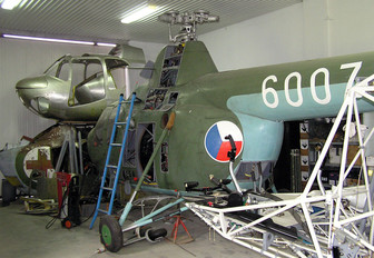 6007 - Czechoslovak - Air Force Mil Mi-1/PZL SM-1