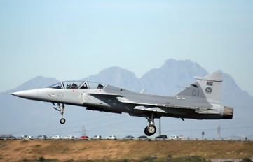 01 - South Africa - Air Force SAAB JAS 39D Gripen