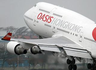 B-LFA - Oasis Hong Kong Airlines Boeing 747-400