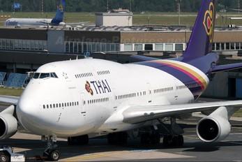 HS-TGJ - Thai Airways Boeing 747-400