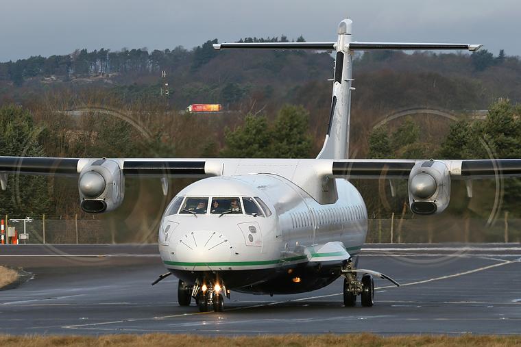 Airlinair F-GVZG aircraft at Edinburgh
