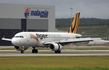 9V-TAD - Tiger Airways Airbus A320