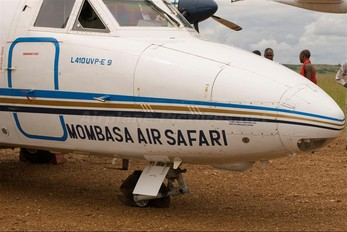 - - Mombasa Air Safari LET L-410 Turbolet