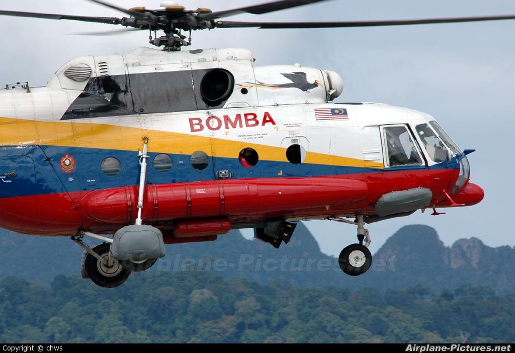 Malaysia - Fire Dept (Bomba) - aircraft at Langkawi