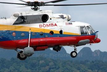- - Malaysia - Fire Dept (Bomba) Mil Mi-17